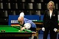 Peter Ebdon and Maike Kesseler at Snooker German Masters (DerHexer) 2015-02-04 02.jpg