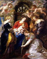 Peter Paul Rubens: Crowning of Saint Catherine