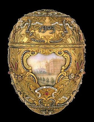 Peter the Great (Fabergé egg) - Image: Peterthegreategg