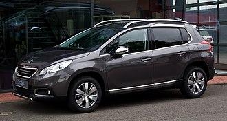 Peugeot 2008 - Image: Peugeot 2008 82 V Ti Allure – Frontansicht (1), 18. Mai 2013, Münster