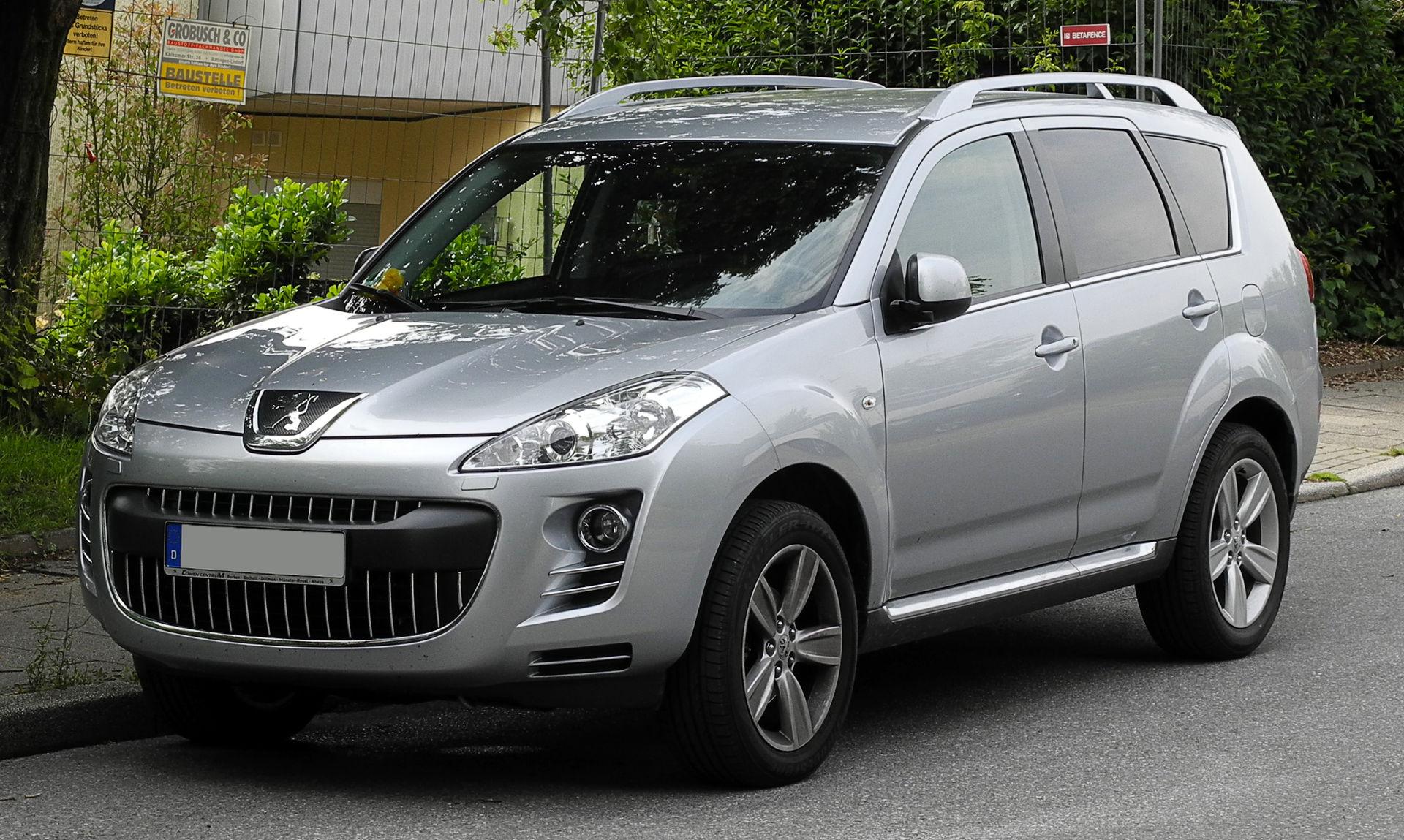 Peugeot 4007 - Wikipedia