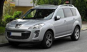 Peugeot 4007 hdi fap 155 platinum frontansicht 15 juni 2011