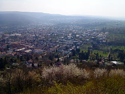 Vy over Pforzheim.