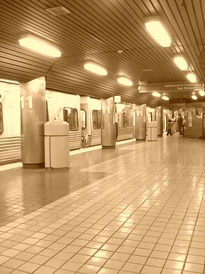 11th Street station (SEPTA) - Image: Philadelphia's 11th street subway station