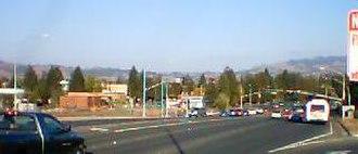 Rohnert Park, California - Rohnert Park Expressway, Rohnert Park, California