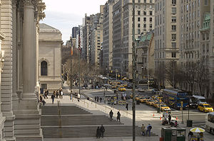 Fifth Avenue - Image: Photograph of Fifth Avenue from the Metropolitan—New York City