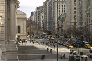 Fifth Avenue North-south avenue in Manhattan, New York
