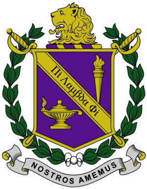 Pi Lambda Phi - The official coat of arms of Pi Lambda Phi