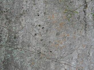 Tibacuy - Image: Pictografia piedra del diablo cumaca