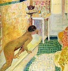 The Exit of the bath