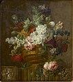 Pieter Faes - Earthenware vase with flowers.jpg