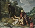 Pieter Lastman - The Good Samaritan tending the wounds of the traveller.jpg