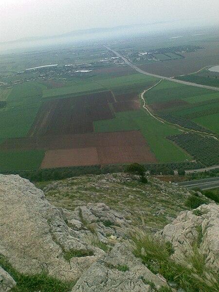 מפגש הרי הגליל עם עמק יזרעאל