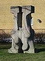 Pileallén II av Hermine Bjerke, skulptur i Malmö.jpg