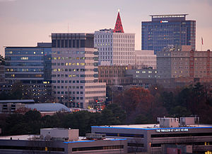 Sandy Springs, Georgia - The skyline of Pill Hill in the Sandy Springs portion of Perimeter Center