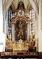 Pillichsdorf - Kirche, Hochaltar.JPG