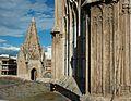 Pinacle i fragment de cimbori, catedral de València.JPG