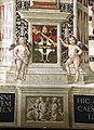 Pinturicchio, liberia piccolomini, 1502-07 circa, stemma piccolomini 5.JPG