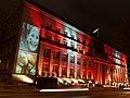 """Pirmo reiz izgaismo valdības māju. Ministru kabinets piedalās gaismas festivālā """"Staro Rīga"""" (17.11.2011.) (6800154341).jpg"""