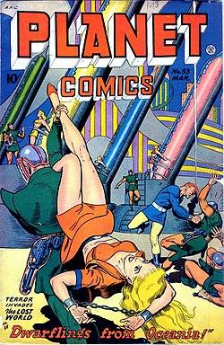 Comic book babes alien sex