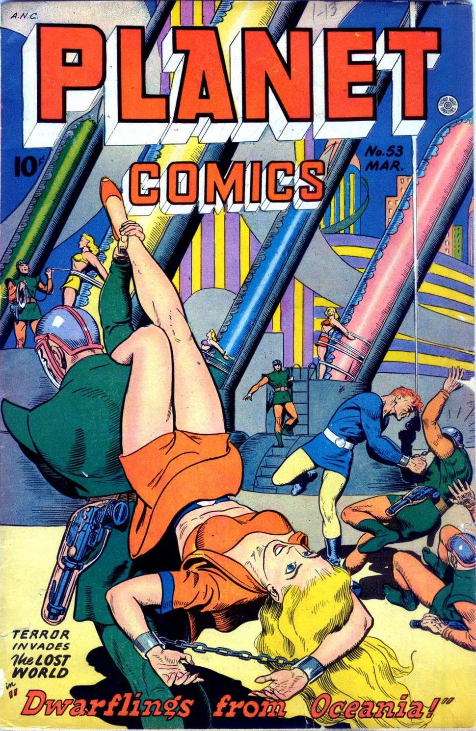 Planet Comics 53