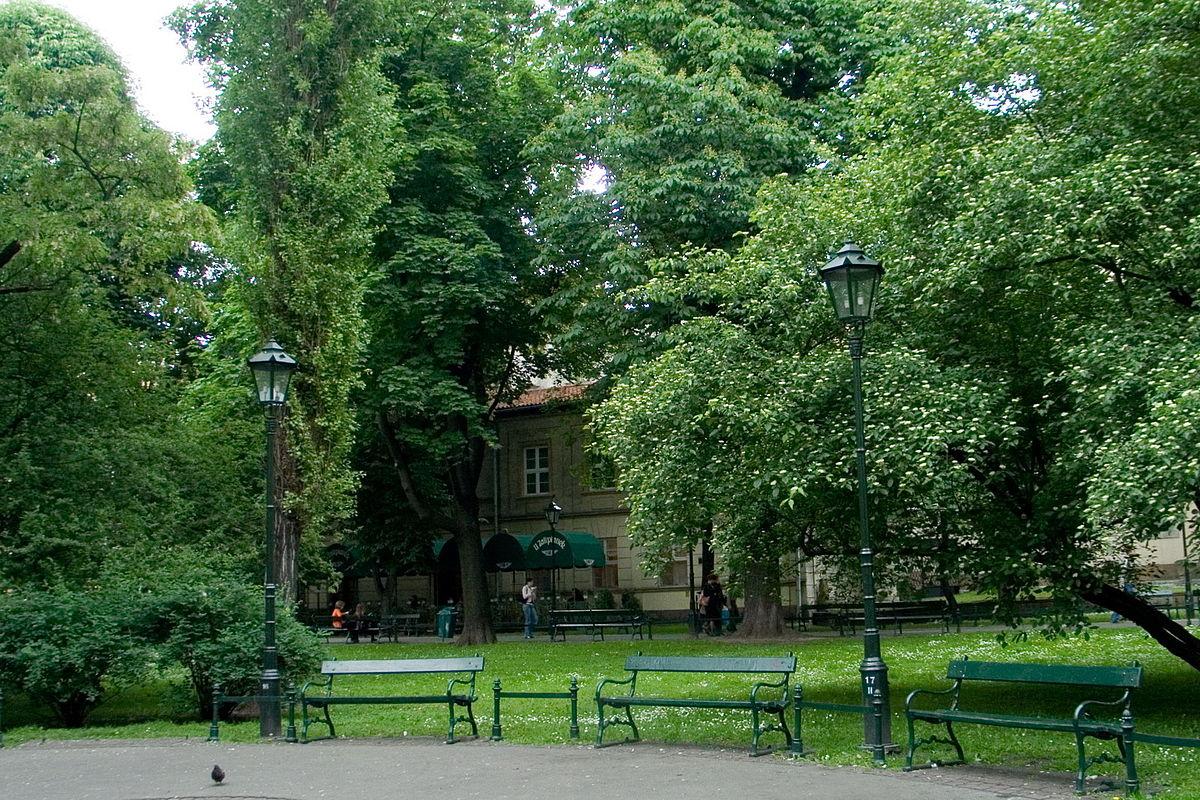 planty park krakowskie wikipedia 2006 file commons wikimedia sa cc