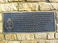 Plaque, Memorials, RAF Blakehill Farm, near Cricklade (2 of 3) - geograph.org.uk - 1732573.jpg