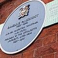 Plaque at The Pankhurst Centre 02.jpg