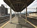 Platform of Hizen-Yamaguchi Station 5.jpg