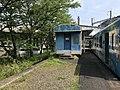Platform of Seiryu-Shin-Iwakuni Station 2.jpg