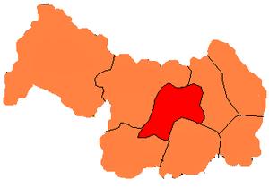 Legnica County - Image: Podział legnicki