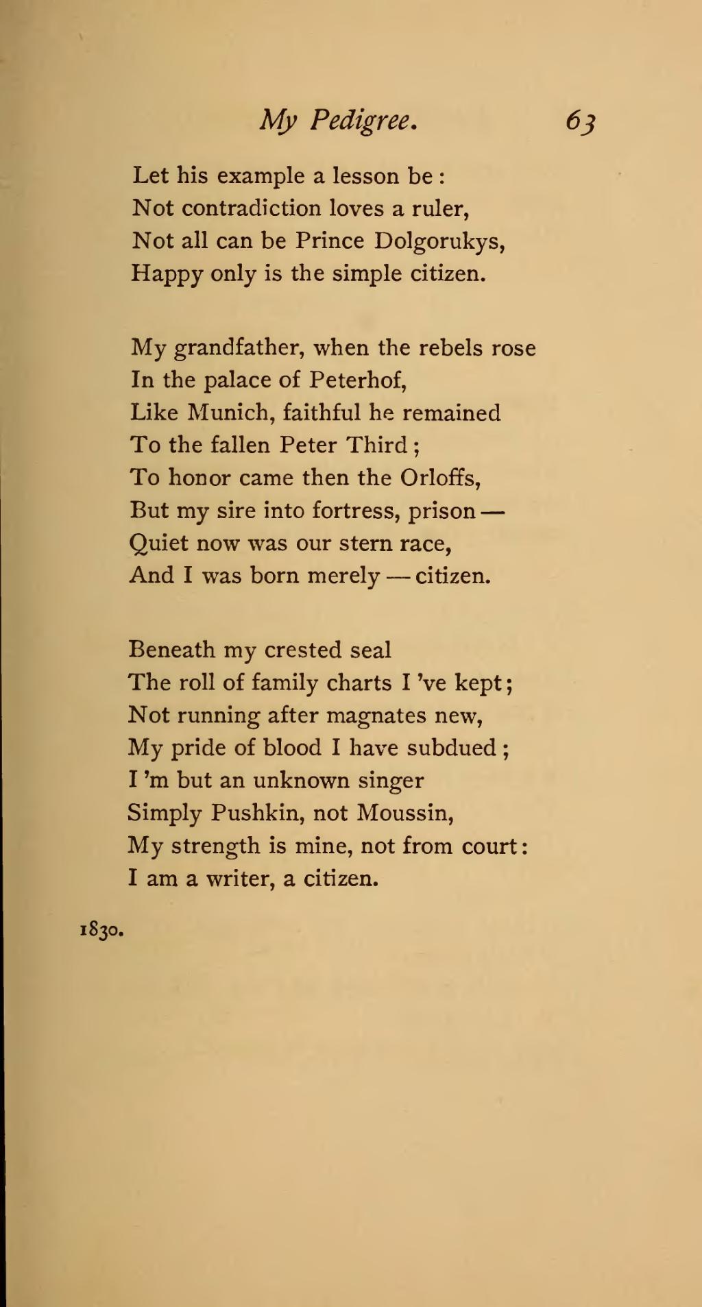 Did Alexander Pushkin write obscene poems? 54