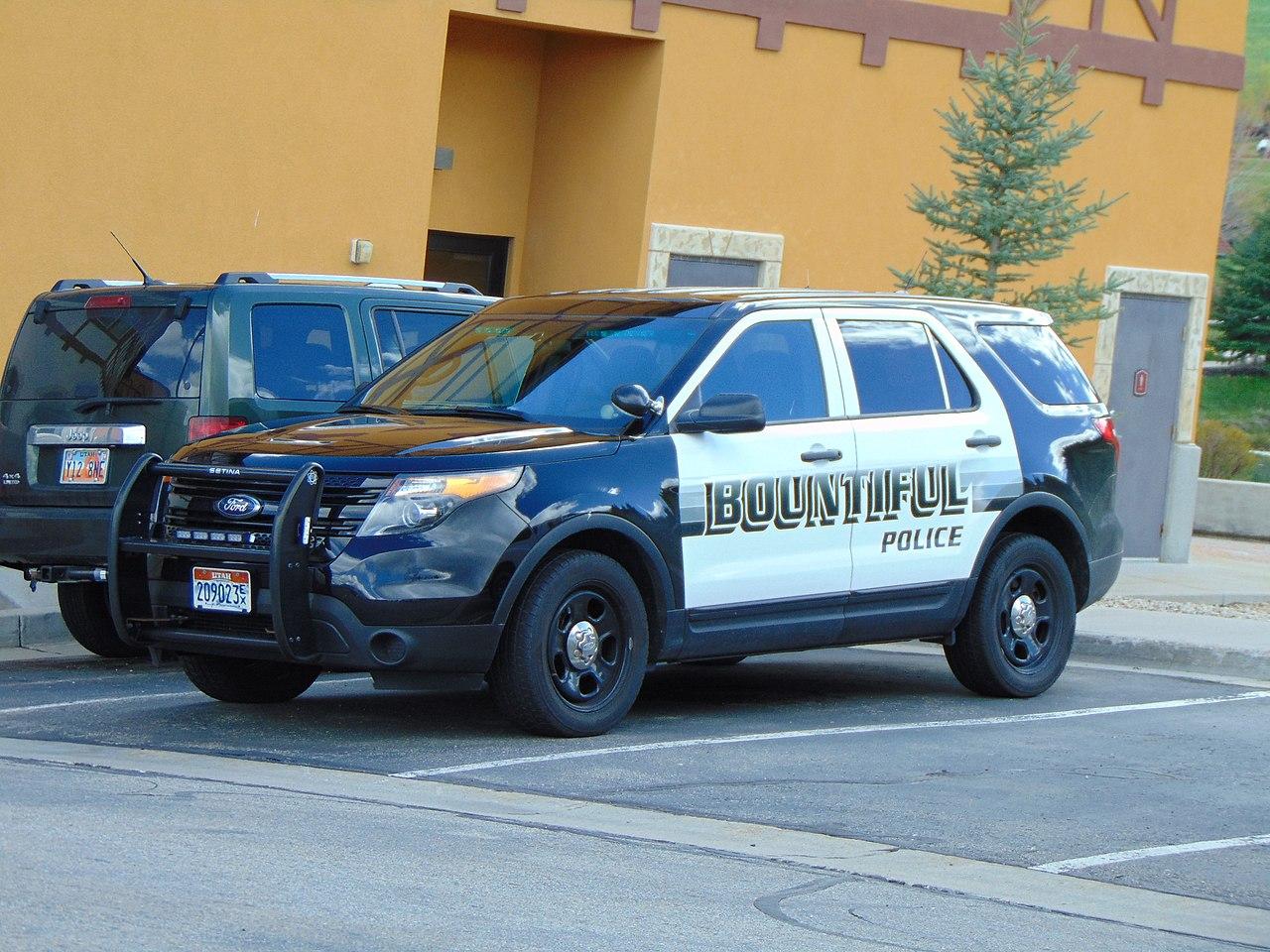 Cars On Line >> File:Police car Bountiful, Utah, Apr 16.jpg - Wikimedia ...