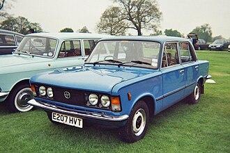 Fiat 125 - Polski Fiat 125p in UK (after 1983)