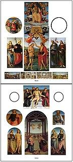 <i>SantAgostino Altarpiece</i>