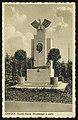 Pomnik Marszałka Piłsudskiego w Otwocku (pocztówka).jpg