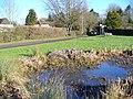 Pond at Farley Green - geograph.org.uk - 655945.jpg