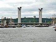 Vue de face, lors de l'Armada 2008