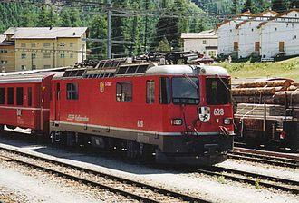 Rhaetian Railway Ge 4/4 II - Ge 4/4 II 628 S-chanf