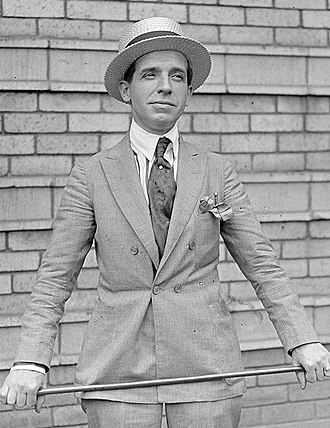 Charles Ponzi - Ponzi circa 1920
