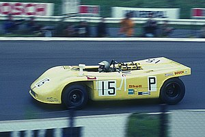 Hans Herrmann - Hans Herrmann drives the 1970 Porsche 908/03
