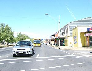 Hindmarsh, South Australia - Port Road and South Road, two of Adelaide's major arteries, intersect in Hindmarsh.