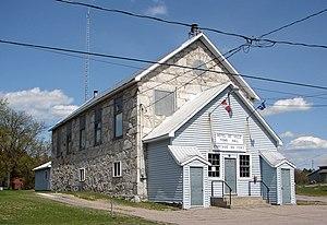 Portage-du-Fort, Quebec - Town hall of Portage-du-Fort