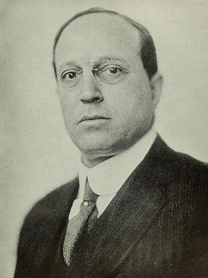 Agnes E. Meyer - Portrait of Eugene Meyer