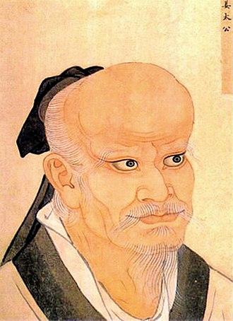Jiang Ziya - Jiang Ziya's portrait in the Sancai Tuhui