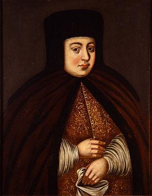 Natalya Naryshkina - Image: Portrait of Tsaritsa Natalya Kirillovna Naryshkina Google Cultural Institute