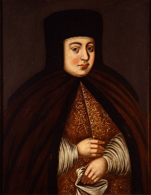 Portrait of Tsaritsa Natalya Kirillovna Naryshkina - Google Cultural Institute.jpg