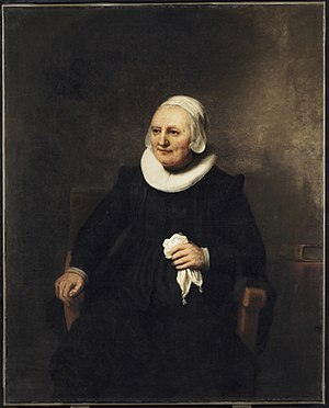 Portrait of a Seated Woman with a Handkerchief - Portrait of a Seated Woman with a Handkerchief, c. 1644. Art Gallery of Ontario.
