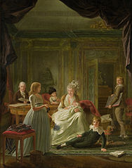 Portrait of Aernout van Beeftingh, his Wife Jacoba Maria Boon and their Children