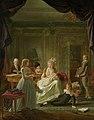 Portret van Aernout van Beeftingh, zijn echtgenote Jacoba Maria Boon en hun kinderen Rijksmuseum SK-C-1586.jpeg